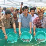 Implementasi Nawacita, KKP Sasar Perbatasan Budidayakan Lele Biofolk