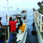 Kapal Ikan Lewati ZEEI, KN Gajah Laut 4804 Beri Peringatan Keras
