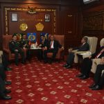 Menhan dan Kabakamla Terima Kunjungan Bilateral Menhan Vietnam