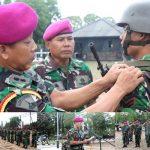 Kursus Bintara Marinir Pelatih Operasi Darat 2017 Resmi Ditutup