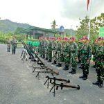 Prajurit Marinir Ikuti Kursus Senjata Bantuan Infanteri