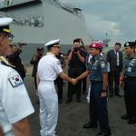 Dua Kapal Perang Korea Selatan Sandar di Surabaya