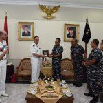President of the Sea Trial Commission French Navy Sambangi Koarmatim