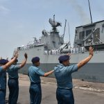 Setelah Lima Hari Sandar, Kapal Perang Korea Selatan Tinggalkan Surabaya
