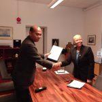 Kemenko Maritim Tandatangani Kerjasama Pendidikan dengan WMU