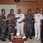 Dua Perwira AL Malaysia Kunjungi Kolinlamil