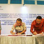 Perkuat Sinergi BUMN Kepelabuhan, Pelindo I dan Pelindo III Jalin Kerja Sama Bisnis