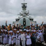 Singgah di Belawan, KRI Bung Tomo-357 Open Ship