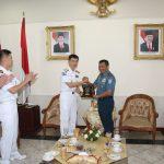 Koarmatim Sambut Kunjungan Commander Cruise Task Force Korsel