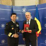 Dekan FMP Unhan beri Kuliah Umum di Rumania National Defence University
