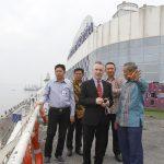 Dikunjungi Wakil Walikota Liverpool, Pelabuhan Tanjung Perak Dukung Program Sister City Surabaya dengan Liverpool