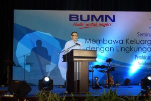 Sambutan CEO Pelindo III IG.N Askhara Danadiputra.