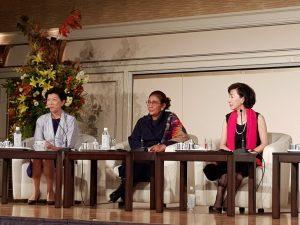 Menteri Susi saat kunjungan kerja ke Tokyo.