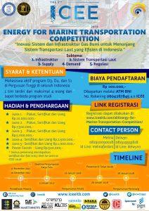 """Lomba """"Inovasi Sistem dan Infrastruktur Gas Bumi untuk Menunjang Sistem Transportasi Laut yang Efisien di Indonesia""""."""