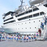 Tumbuhkan Jiwa Kebaharian sejak Dini, Siswa TK di Tangerang Kunjungi KRI Tanjung Nusanive-973