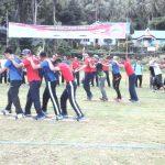 Perkuat Keakraban Angkatan Laut Serumpun, TNI AL dan TLDB Fun Games Bersama di Natuna
