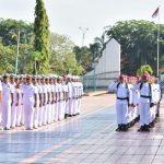 Jelang Hari Armada 2017, Asops Danantamal XII Pimpin Ziarah ke Makam Pahlawan