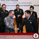Dirut BKI Dilantik sebagai Wakil Ketua DK3N oleh Menaker