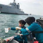 Sinergi Bakamla RI, TNI AL, dan Beberapa Instansi Pemerintah Antisipasi Pencemaran Laut