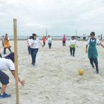 Peringati Hari Korpri, ASN Kolinlamil Olahraga Bersama
