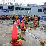 Tiba di Sabang, KRI Banda Aceh-593 Disambut Antusiasme Masyarakat