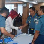 Disaksikan Komandan Kotama di Jatim, TNI AL Jajaki Kerja Sama dengan Mitra Kerja