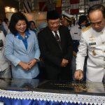Kasal Resmikan Komplek TNI AL Toni Sukaton