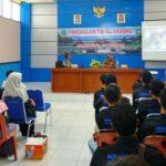 Bentuk Karakter Bangsa Maritim, Lanal Sabang Beri Kuliah Umum Mahasiswa Budidaya Perairan