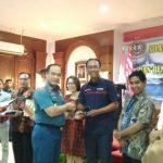 Kasal Bersilaturahmi dengan Pimpinan Media di Sela-sela Peresmian Anjungan Pushidrosal