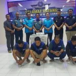 Danlantamal IV Pimpin Penyerahan Tersangka MV Sunrise Glory kepada BNN
