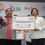 Pertamina Bantu Sarana Air Bersih untuk Masyarakat sekitar Pantai Air Manis