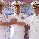 Dansatrol Lantamal III Pimpin Sertijab Komandan KRI Cucut-886