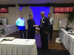 Pengukuhan Pushidrosal sebagai   Associate Member  SWPHC di Nadi,Fiji.