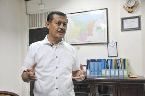 Ketua Tim Khusus Peralihan Alat Tangkap Yang Dilarang, Laksdya (Pur) Widodo.