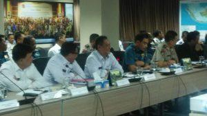 Rapat Koordinasi Revitalisasi Bakamla dan Lego Jangkar di Perairan Batam.