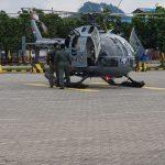 Matangkan Persiapan, Helikopter Tim SAR Dukung Lomba Renang dan Dayung Lintas Selat Sunda