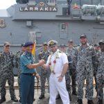 Jalankan Naval Diplomacy, HMAS Larrakia ACPB 84 Kunjungi Jakarta