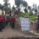 Tahap Akhir Pendidikan, 352 Siswa Dikmata Kodiklatal Ikuti Lintas Medan Banyuwangi-Surabaya