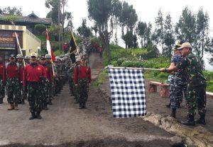 Pelepasan Lintas Medan Banyuwangi Surabaya sejauh 369 kilometer.