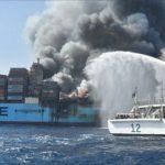 4 Awak Kapal Hilang saat Kebakaran Maersk Honam di Laut Arab