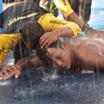 Rekor Terpecahkan, Kopda Marinir Budi Santoso Tercepat Lintasi Selat Sunda