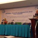 Jadi Acuan Pengembangan Minapadi Asia-Pasifik, KKP dan FAO Gelar Pelatihan Percepat Perluasan Area di Indonesia