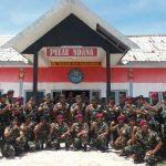 Motivasi Prajurit Daerah Terluar, Dankormar Kunjungi Pulau Ndana