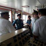 Danlantamal III Sambut Kedatangan Kapal Perang Rusia RNS Parekop