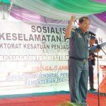 Ditjen Hubla Concern Keselamatan Pelayaran Rakyat dan Nelayan di Sibolga