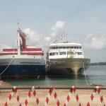 Ditjen Hubla Serentak Resmikan Pengoperasian Kapal Baru di Batam