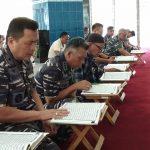 Hari Pertama Puasa, Prajurit Lantamal V Gelar Kajian Islam Ba'da Dzuhur