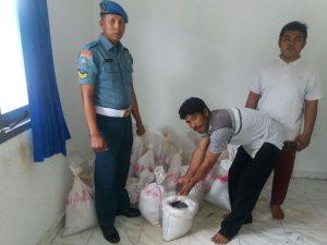 Lanal Dabo Singkep amankan timah ilegal.