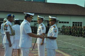 Sertijab Danlanal Semarang.