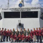 Perdalam Pokok Informasi Pertahanan Maritim, Mahasiswa Unhan Kunjungi Pushidrosal